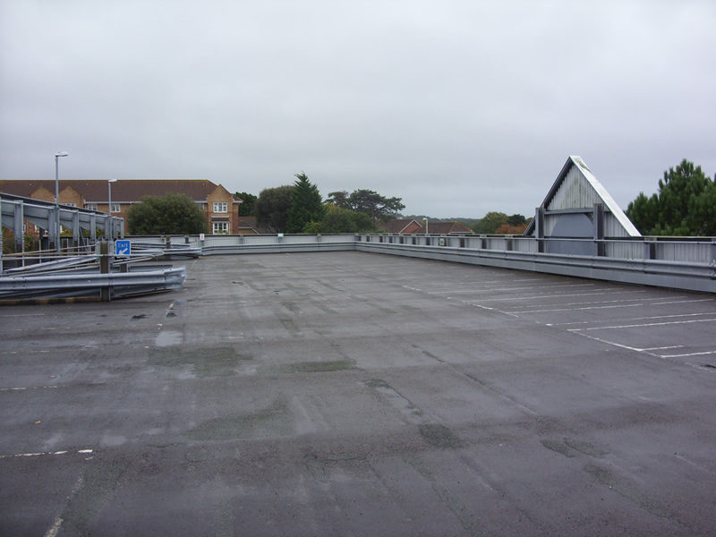 Car Park View - Roof Level