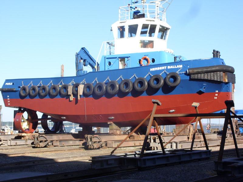 Herbert Ballam Boat - After