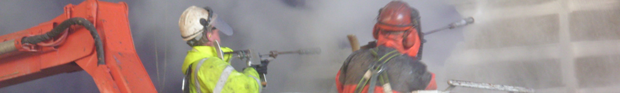 Ultra High-Pressure Blasting - Banner Image